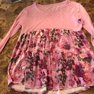 Girls justice shirt